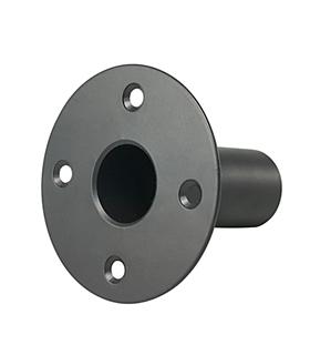 Copo Suporte Coluna 35mm Preto - CSC35MM
