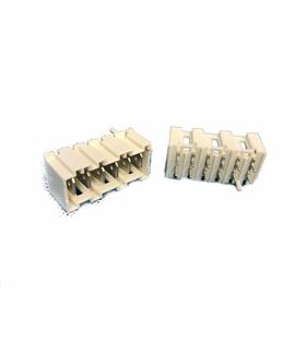 MTL 2 S 7776-6-0-606 - Conector Macho, 6 Pinos - MTL2S777660606