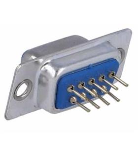 Conector Sub-D, Femea, 9 Pinos, PCB 180º - 69D9PFCI