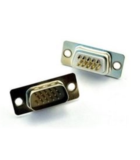 Conector Sub-DHD, Macho, 15 Pinos, Soldar - 69DHD15PM