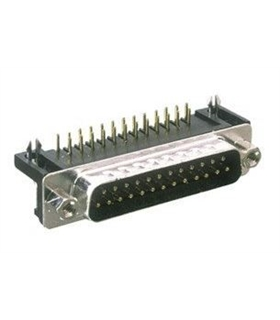Conector Sub-D, Macho, 25 Pinos, Soldar - 69D25PM