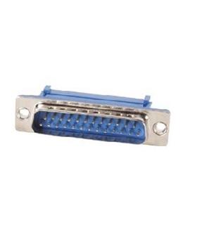 Conector Sub-D, Macho, 25 Pinos, Cravar Flat Cable - 69D25PMFC