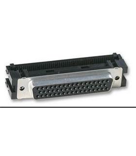 Conector Sub-D, Femea, 50 Pinos, Cravar Flat Cable - 69D50PFFC
