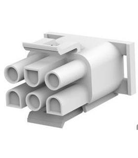 1-480704-0 - Conector Raster, Macho,  6 pinos, 6.35mm - 1-480704-0