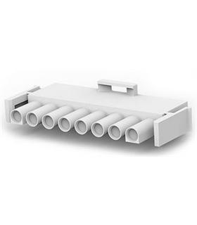640586-1 - Conector Raster, Macho,  8 pinos, 6.35mm - 640586-1