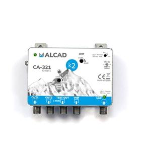 Amplificador de cabeceira 2 ent, 2 sal, UHF-VHF/FM - CA-321