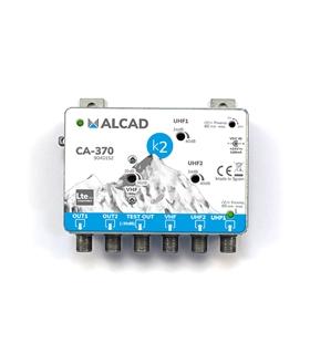 Amp. de cabeceira 3 ent, 2 sal, UHF-UHF-VHF/FM,rej. LTE 700 - CA-370