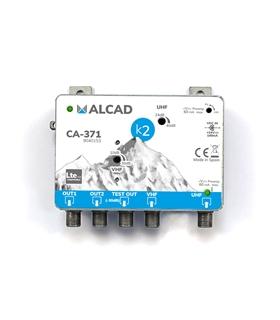 Amp. de cabeceira 2 ent, 2 sal, UHF-VHF/FM,rej. LTE 700 - CA-371