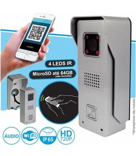 Video Porteiro WiFi e RJ45 p/ Smartphone - IMAGO