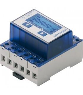 Contadores de energia trifásicos com display LCD ate 65A - ALE3D5F10KA3A00