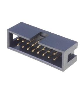 Conector IDC, Macho, 16 Pinos - 69H16