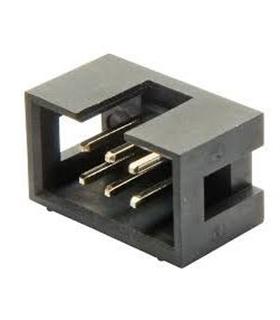 Conector IDC, Macho, 6 Pinos - 69H6