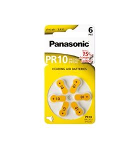 PR10/PR70 - Pilha Aparelho Auditivo Zinc Air Panasonic - 169PR10P