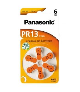 PR48/PR13 - Pilha Aparelho Auditivo Zinc Air Panasonic - 169PR48P
