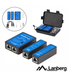 Testador para cabos RJ45/RJ11/RJ12 e BNC - NT0404