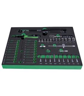"""220640  - Jogo de chaves de caixa SysCon S """"Torque ¼"""" - H220640"""