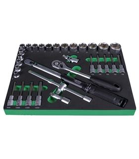 """220642  - Jogo de chaves de caixa SysCon S """"Torque ½"""" - H220642"""