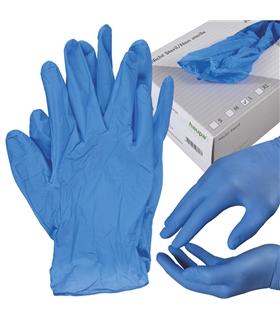 393104 - Luvas de proteção em nitrilo, azuis - H393104
