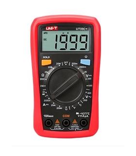 UT33C+ - Multimetro Digital 3.5 Digitos - UT33C+