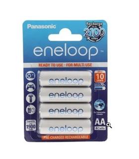 Blister 4 Pilhas Lr6 1900mah Panasonic Eneloop - BK-3MCCE/4BE