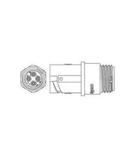 1445389-1 - Conector Circular 4 pinos - 1445389-1