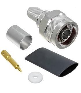 TC-400-NMH-X - Conector RF N Macho LMR-400 Cravar - TC-400-NMH-X