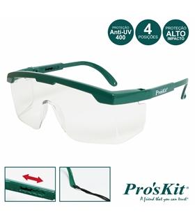 MS-710 - Óculos Proteção Visão Total PROSKIT - MS-710