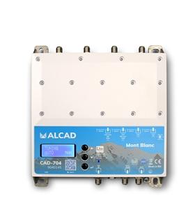 Central programável c/ filtros digitais p/ 32 canais DVB-T2 - CAD-704