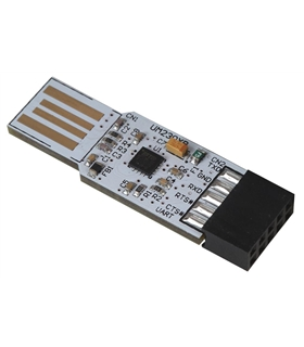 Conversor USB UART, 300baud a 3Mbaud em Nivel TTL - UMFT230XB01