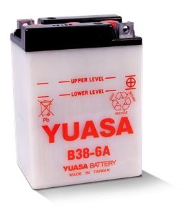 B38-6A - Bateria para Moto Yuasa 6V 14.7Ah - B38-6A