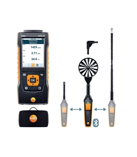 Kit Pro 2 para caudal testo 440 delta P com Bluetooth - T05634410