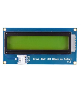 104020113 - 16X2 LCD Black on Yellow - 104020113