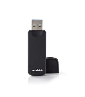 Leitor Cartoes USB3.0 7 em 1 - Nedis - CRDRU3100BK