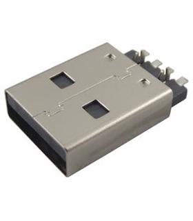 MC32604 - Ficha USB A 2.0 SMD - MC32604