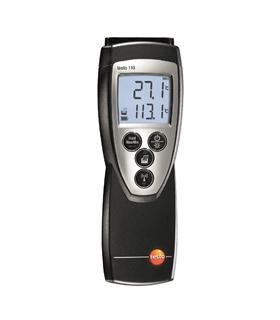 testo 110 - Instrumento de medição de temperatura - T05601108