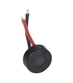 ABM-715-RC - Microfone de Eletreto 50-16khz 10V 2.2kR - ABM715RC