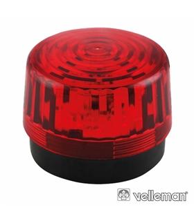 Lâmpada Estroboscópica 12Vdc Vermelha - HAA100RN
