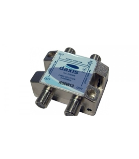 ED1506 - Repartidor c/Ficha F 1 Entrada / 3 Saídas 5-2400Mhz - 69TF3