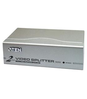 AB7602 - Splitter/Multiplicador VGA Amplificado 2 Mon - AB7602