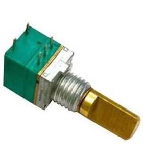P081S-71F2CAR10K - Potenciometro 8mm 10kOhm Interruptor - P081S71F2CAR10K
