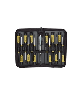 Conjunto de 13 Micro Chaves em Estojo - 2322720