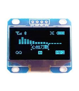 "Modúlo Ecrã OLED 1.3"" Para Arduino Branco - MX0968737"