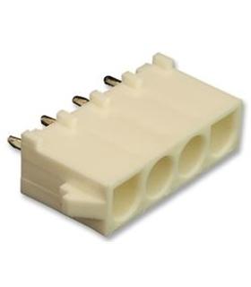 10-84-5040 - Conector Raster, Macho, 4 pinos, 6.35mm - 10-84-5040
