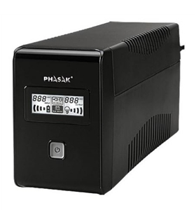UPS PHASAK 650VA C/LCD - PH9465