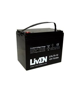 LVL75-12 - Bateria AGM 12V 75Ah - LVL75-12