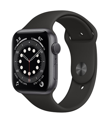 M00H3PO/A - Smartwatch Apple Watch Series 6 44mm Space Grey - M00H3PO/A