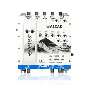 Amplificador multibanda 5 entradas, 1 saida, LTE 700 - CA-672