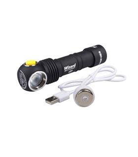 Headlamp Armytek Wizard USB magnet 1250lm USB rechargeable - WIZARDUSB