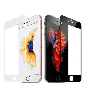 Vidro Temperado Iphone 7 8 3D Preto - VTIPHONE783DB