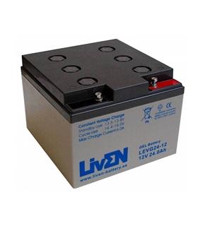 LEVG24-12 - Bateria de Gel 12V 24Ah - LEVG24-12